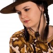Royalty-Free Stock Photo: Cowgirl