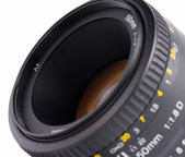 Kameralinsen — Stockfoto