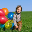 Royalty-Free Stock Photo: Children with balloons