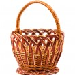 Wicker basket - Foto Stock