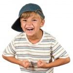 Portrait of emotionally kid — Stock Photo #3587481