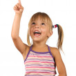 Funny little girl — Stock Photo #3587491