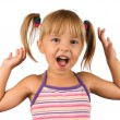 Funny little girl — Stock Photo #3663179