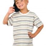 Portrait of emotionally kid — Stock Photo #3663196