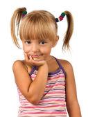 Portrait of emotionally kid — Stock Photo