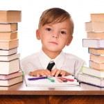 Boy writing — Stock Photo #3676353