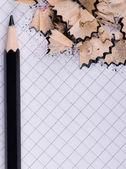 Crayon noir — Photo