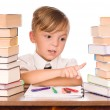 Boy with books — Stock Photo #3734762