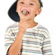 Stock Photo: Boy with lollipop