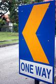One way — Стоковое фото