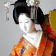 Stock Photo: Geishjapanese doll