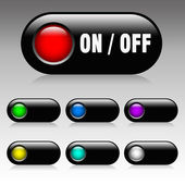 On and Off button — Stock Photo