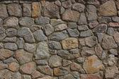 Color texture from stone masonry — Stock Photo