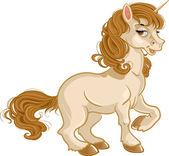 Pretty fabulous unicorn — Stock Vector