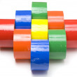 Stock Photo: Colored tape.