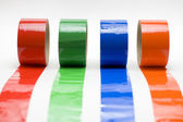 Colored tape. — Stock Photo