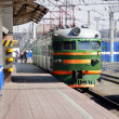 Chelyabinsk railway station — Stock Photo