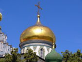 Cupola in New Jerusalem monastery - Russia — Stock Photo