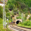 Railroad and Tunnel - Stockfoto