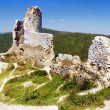 The Castle of Cachtice - Ruins — Stock Photo