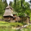 Rare Wooden Church, Zuberec, Slovakia — Stock Photo