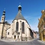 Church in Banska Stiavnica — Stock Photo