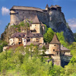 Famous Orava Castle, Slovakia — Stock Photo #3613119
