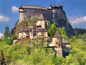 Famous Orava Castle, Slovakia — Stock Photo