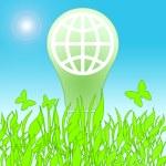 Lamp Saving Life — Stock Photo
