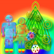 Royalty-Free Stock Photo: Colorful Christmas