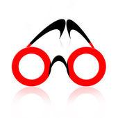 Abstract Eyeglasses — Stock Photo