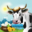 cow — Stock Vector