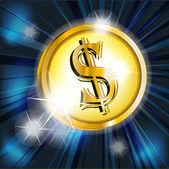 Dollar — Stock Vector