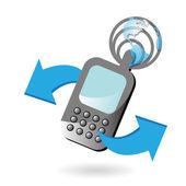 Telephone — Stock Vector
