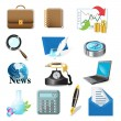 Icons — Stock Vector