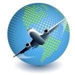 Plane — Stock Vector #3778626