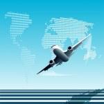 Plane — Stock Vector