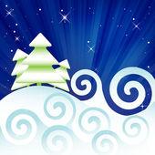 Зима — Cтоковый вектор