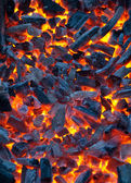Fire coals — Stock Photo