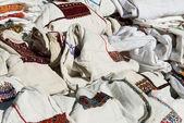 Traditional ukrainian shirt — Stock Photo