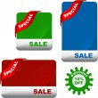 Royalty-Free Stock Vector Image: Set of sale labels. Great collection.