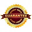 GUARANTEE. Set of sale labels. - Stock Vector