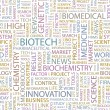 BIOTECH. Word collage vector — Stock Vector #3075496