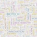 BIOTECH. Word collage vector — Stock Vector