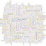 ECONOMY. Vector illustration — Stock Vector