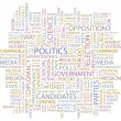 Royalty-Free Stock Vector Image: POLITICS. Vector background