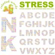 STRESS.. Illustration with different association terms. — Stock Vector #3077081