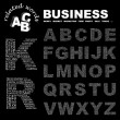 BUSINESS. Illustration with different association terms. — Векторная иллюстрация