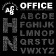 OFFICE. Seamless vector pattern with word cloud — Stock Vector #3078503