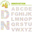 INNOVATION. Word collage. Vector illustration. — Stock Vector